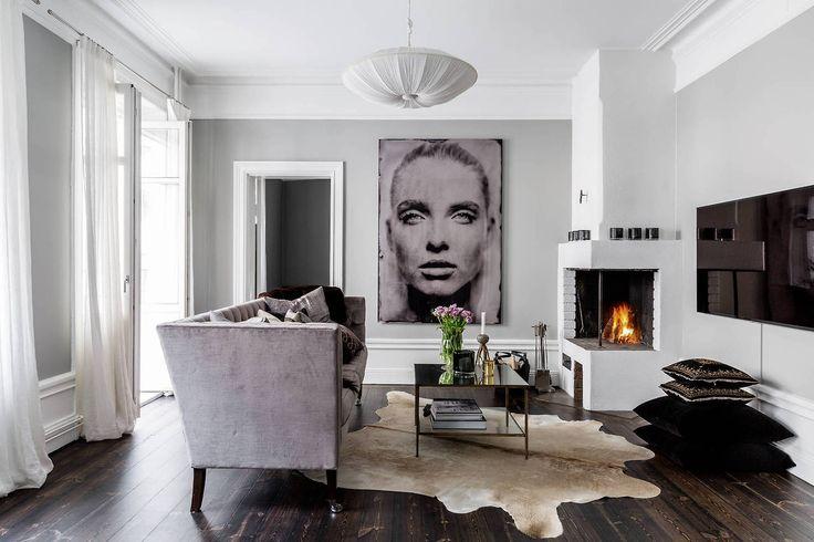 Modern Scandinavian Fireplace: 25+ Best Ideas About Scandinavian Fireplace On Pinterest