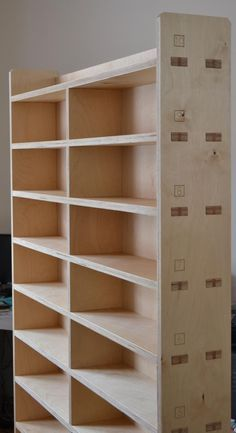 OpenDesk - Studio / #200 CNC Plywood Bookcase #cnc #plywood