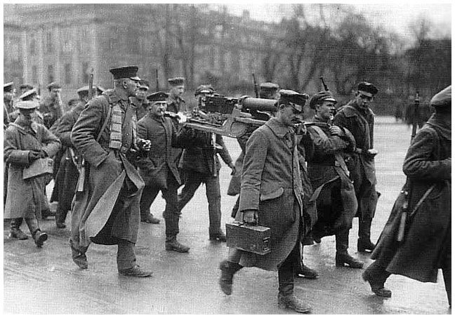 germany after ww1 | HISTORY IN IMAGES: Germany after World War One: Chaos: Spartacists ...