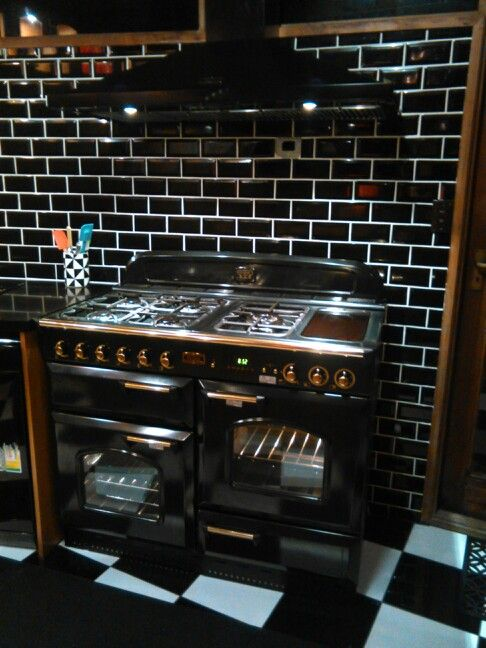 The Falcon cooker and range hood.