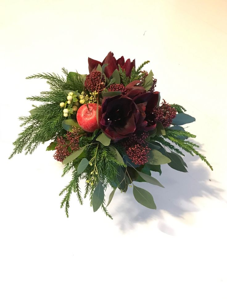 A bouquet for the Christmas table.
