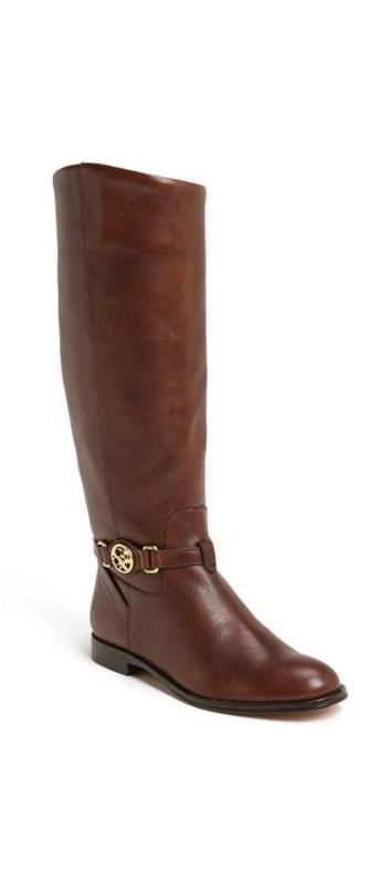 Obsessed with this Coach riding boot.