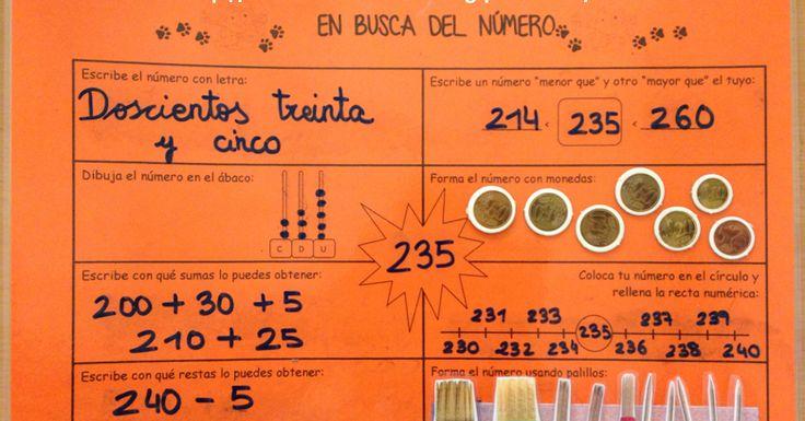 """El curso pasado en 1º utilizamos el material """" El detective de números """" para trabajar la descomposición, sumas, restas, manejo de monedas....."""