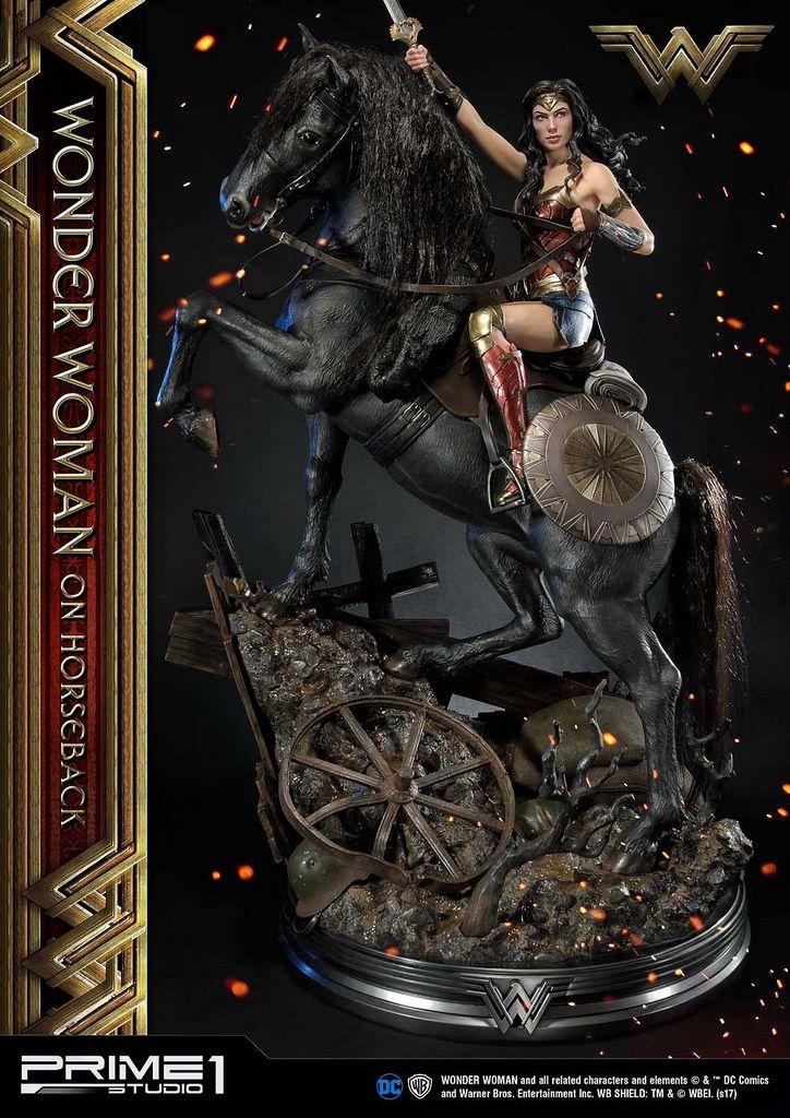 結合美麗與魄力的女神姿態!Prime 1 Studio 神力女超人【神力女超人 On Horseback】ワンダーウーマン ホースバック MMWW-02 1/3 比例全身雕像作品 | 玩具人Toy People News