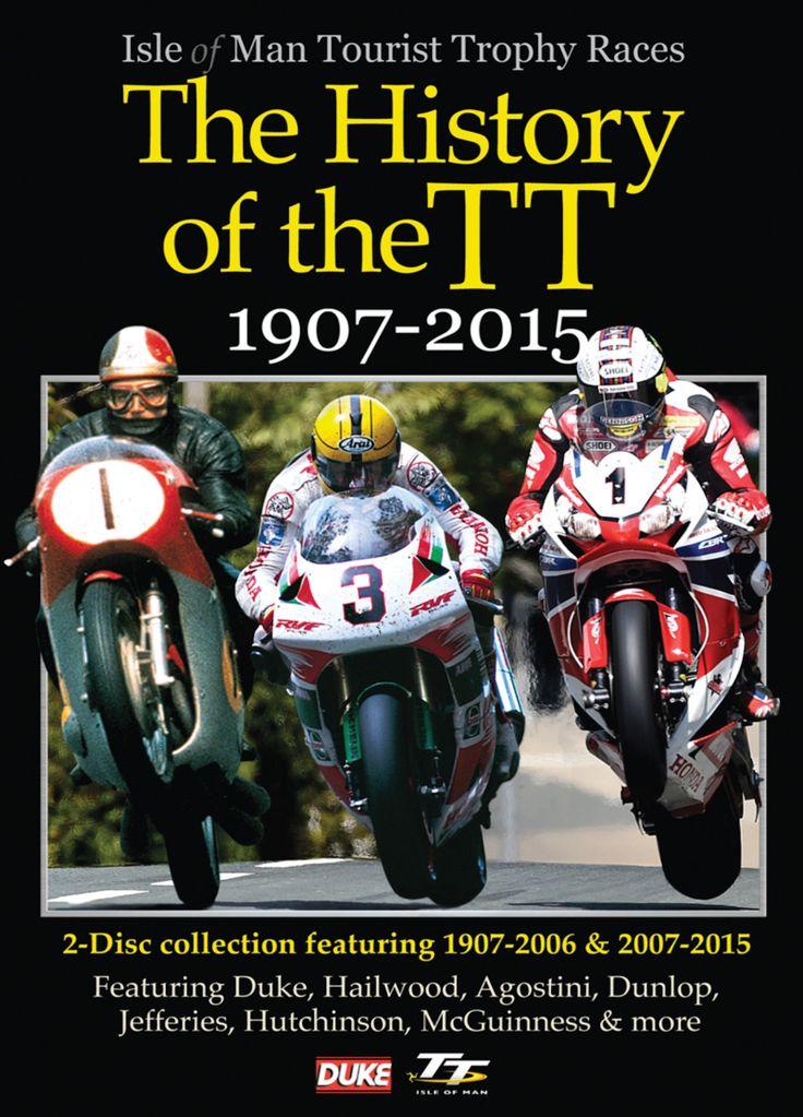 History of the TT 1907-2015- 2 DVD Set