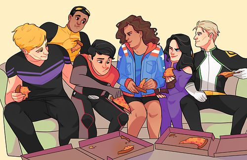 Young Avengers!!