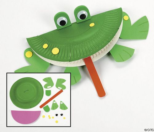 how to make a frog using paper
