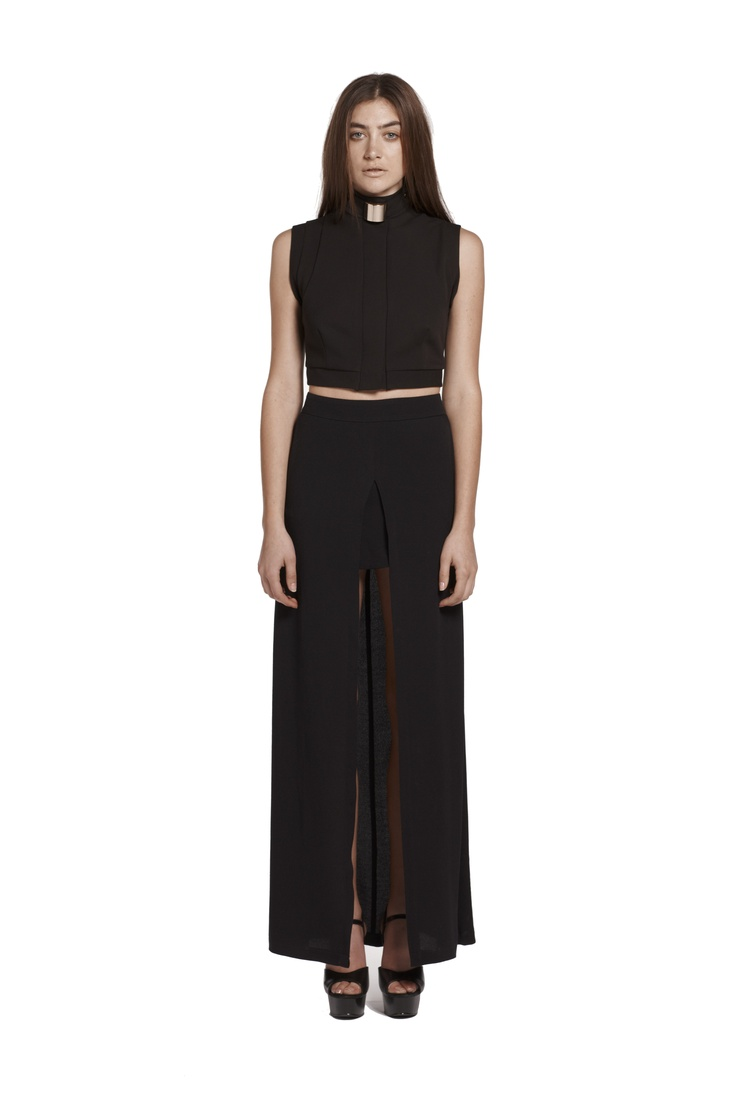 valley of neptune cropped shirt & are you experienced maxi skirt