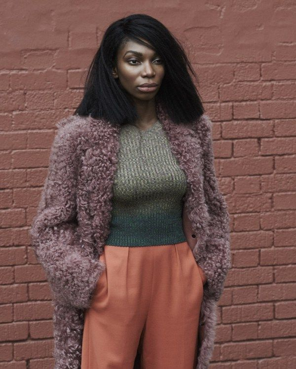 [Pics] 'Chewing Gum' Star Michaela Coel Stuns in Interview Magazine | Black Girl with Long Hair