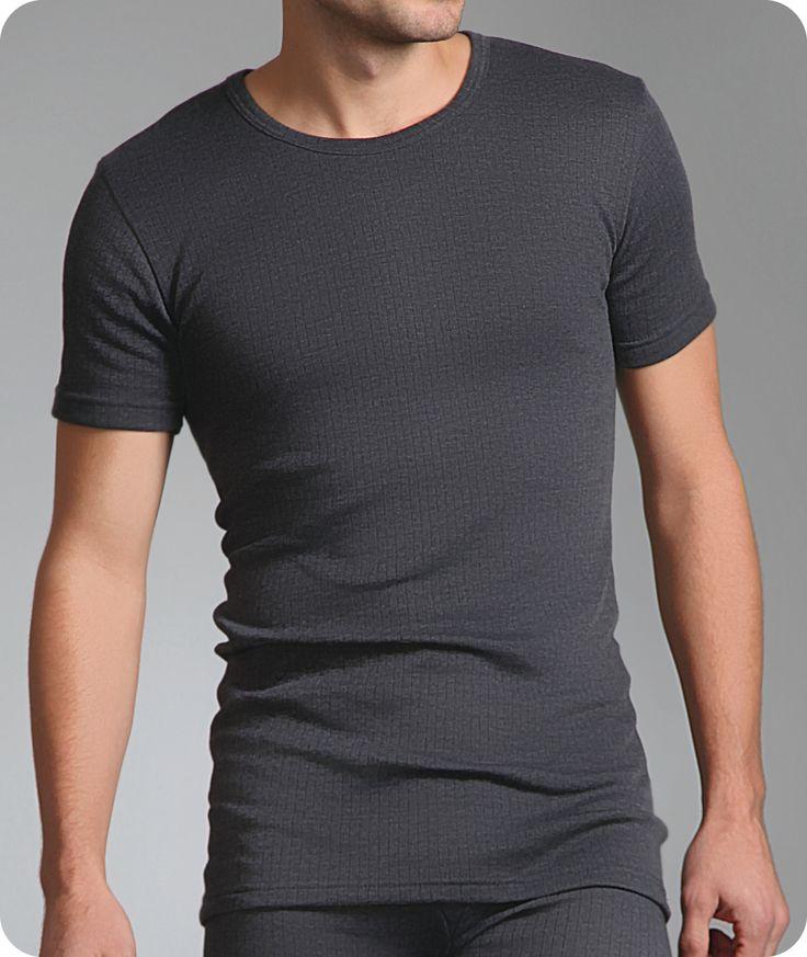 Mens Thermal Short Sleeved Vest