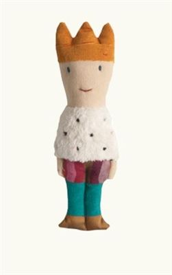 Soft touch prince rattle from Maileg! Find it now at CiaoBellaShop.com!