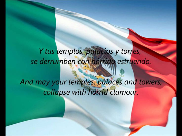 "Mexican National Anthem - ""Himno Nacional Mexicano"" (ES/EN)"