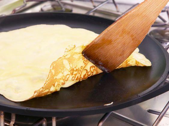 Low Carb-Pfannkuchen zubereiten