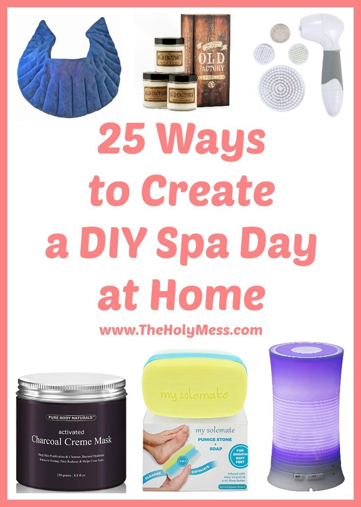 7831 best healthy living tips images on pinterest health for How to make a spa at home