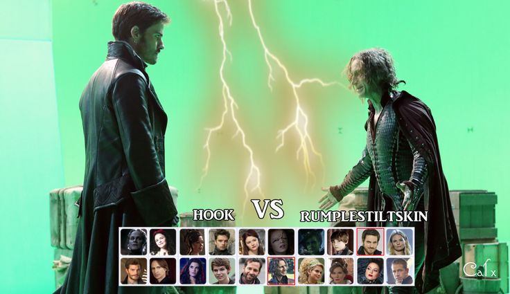 Hook vs Rumpelsztyk by VincentSharpe.deviantart.com on @deviantART