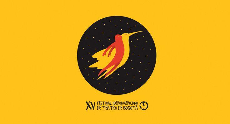 XV Festival Iberoamericano de Teatro on Behance
