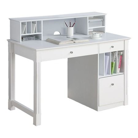 25 best ideas about study tables on pinterest study for Ikea computer desk with hutch