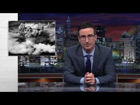 NO this is NOT GOOD ~ but it is True. We are far more likely to accidently Nuke ourselves out of existence than we are to be attacked by nuclear attack from any other group or country...  Last Week Tonight with John Oliver: Nuclear Weapons (HBO)