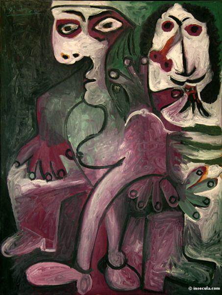 Pablo Picasso - Homme et femme (1968)