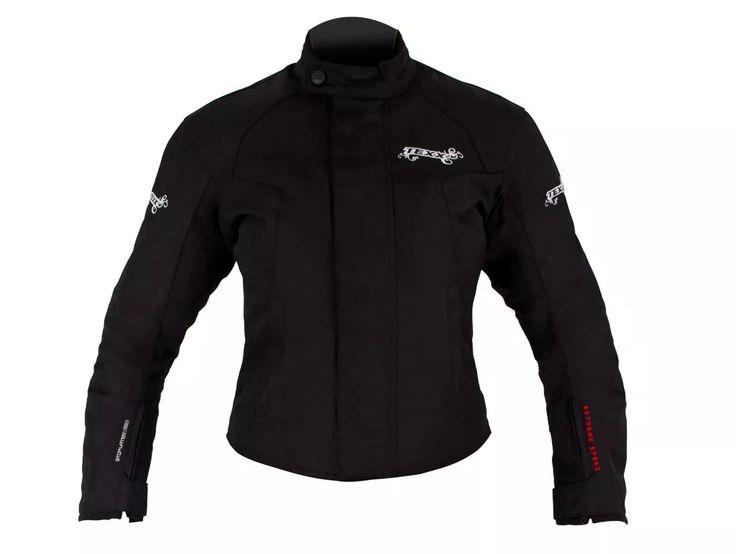 nova jaqueta motoqueiro feminina impermeável strike - texx