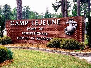 Camp Lejeune Marine Base, North Carolina Infantry graduation. Feb. 2010. Another proud day.