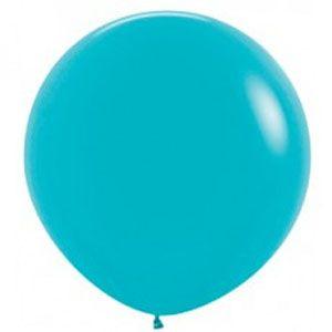 Büyük balon, jumbo balon, turkuaz balon, doğum günü partisi, parti malzemeleri, doğum günü süslemeleri, doğum günü kutlaması,
