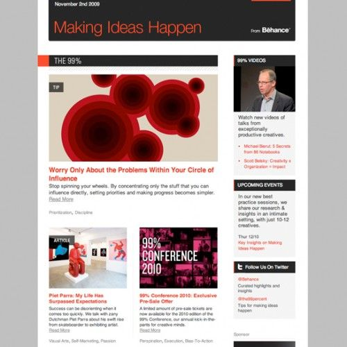Best Newsletters Images On   Email Newsletters Email