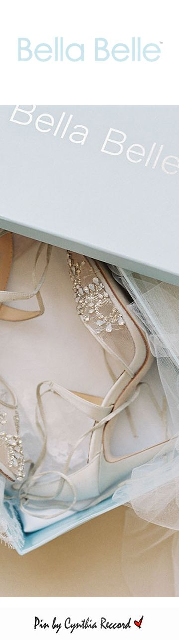 Bella Belle | Enchanted | SS 2017 | cynthia reccord | wedding shoes heels dreamy tulle bridal heels