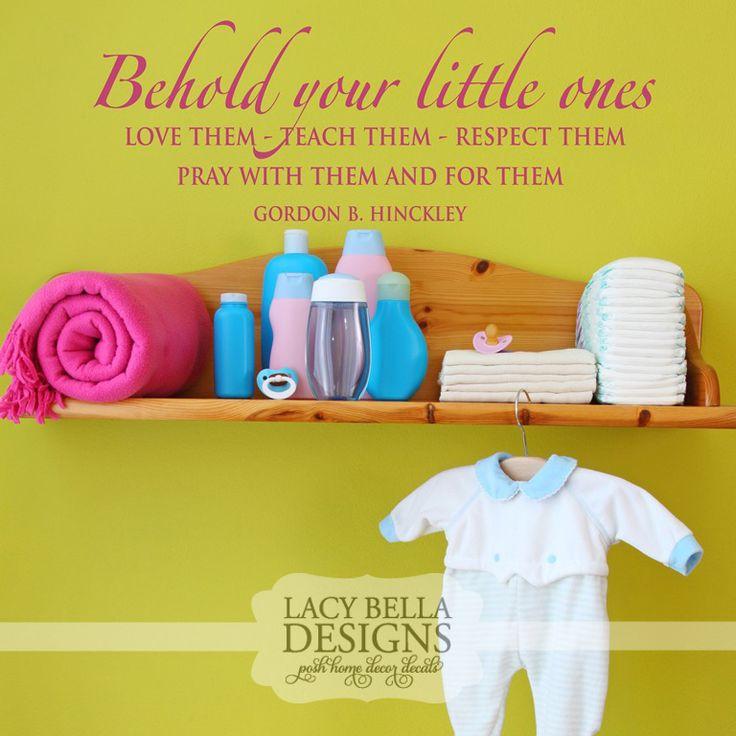 53 best Kids Rooms - Nursery images on Pinterest | Vinyl decals ...