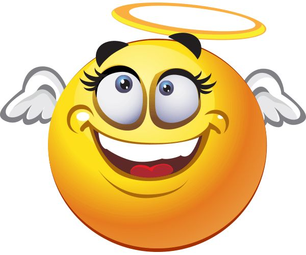 Angelic Smiley | Smiley, Smileys and Facebook