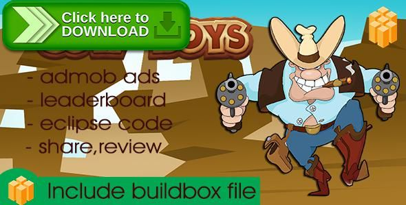 [ThemeForest]Free nulled download Cow boy - Buildbox Game Template + Android Eclipse Project Template Included from http://zippyfile.download/f.php?id=41091 Tags: ecommerce, buildbox game, buildboxstore, complete game, cow boy, eclipse