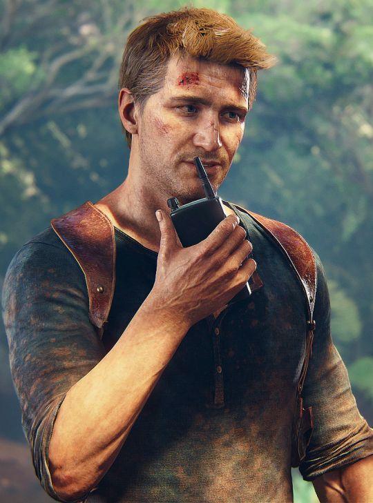 Nathan Drake #Uncharted4