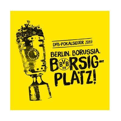 BVB DFB Pokal 2017 Winners Sticker