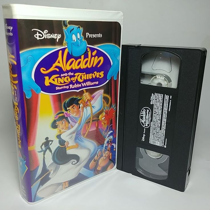 Aladdin And The King Of Thieves By Disney 1996 Vhs Tape Very Clean