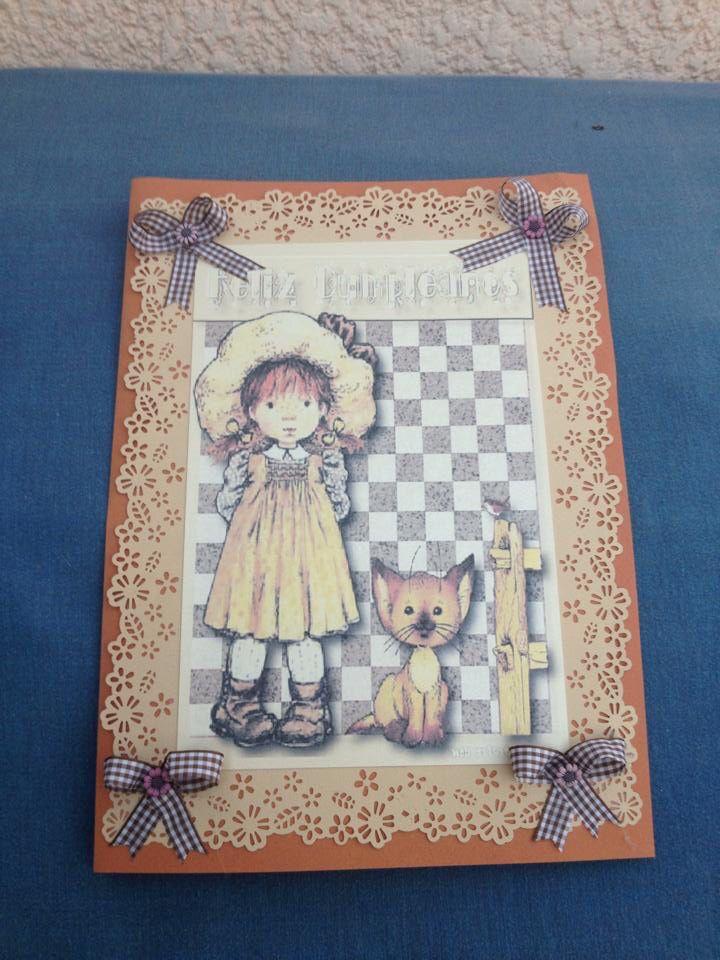 Tarjetas para mis amigas Marcela y Victoria