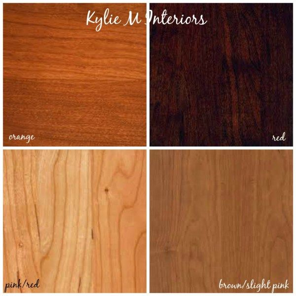 how to mix and match wood stains and tones with cherry and oak cabinets, flooring and furniture