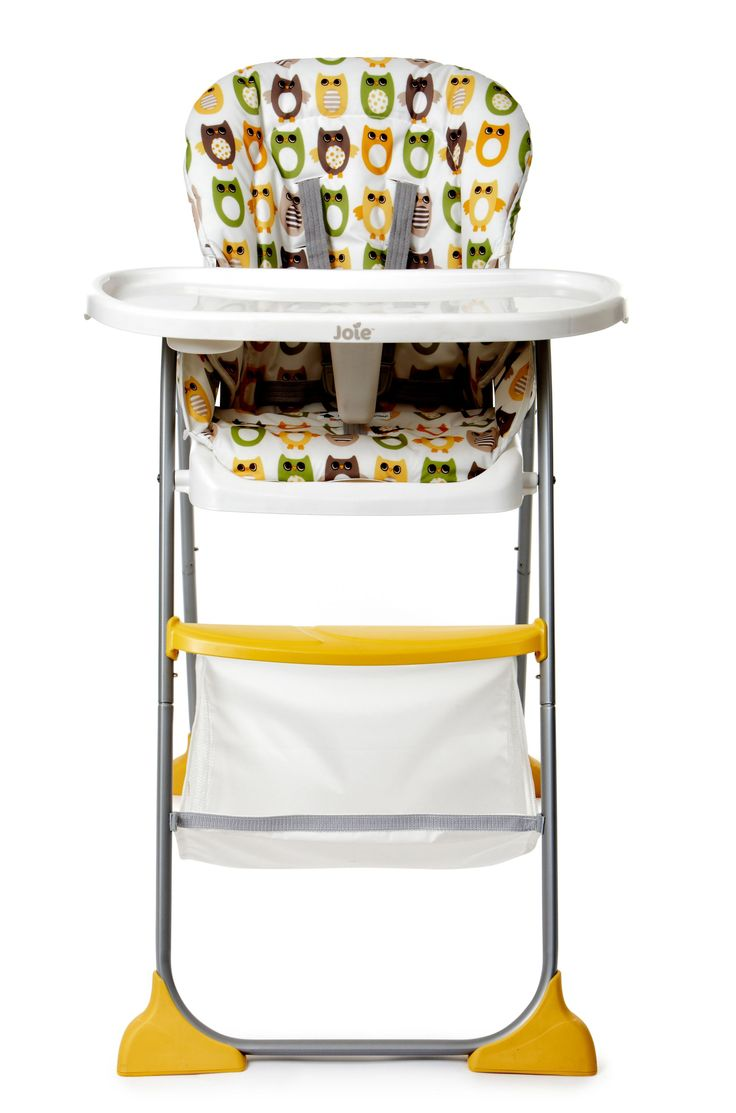 Joie Mimzy Snacker Highchair - Owls