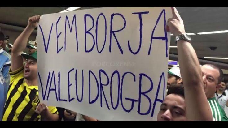 Borja é Recebido Com Festa Pela Torcida no Aeroporto   AEROPORCO  11 02 ...