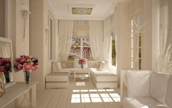 Дизайн веранды в стиле прованс от Студии Анны Тиселько Dekoramore