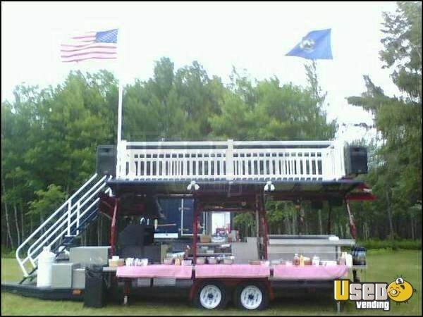 Used BBQ Trailer for Sale in New Hampshire!!!