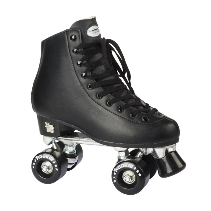 Rookie Classic Adult Roller Skates - Black | Free UK Delivery