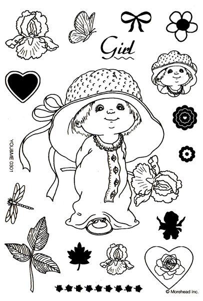 ruth morehead coloring pages - photo#1