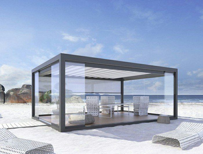 17 meilleures id es propos de pergola aluminium sur pinterest pergola en aluminium toile. Black Bedroom Furniture Sets. Home Design Ideas