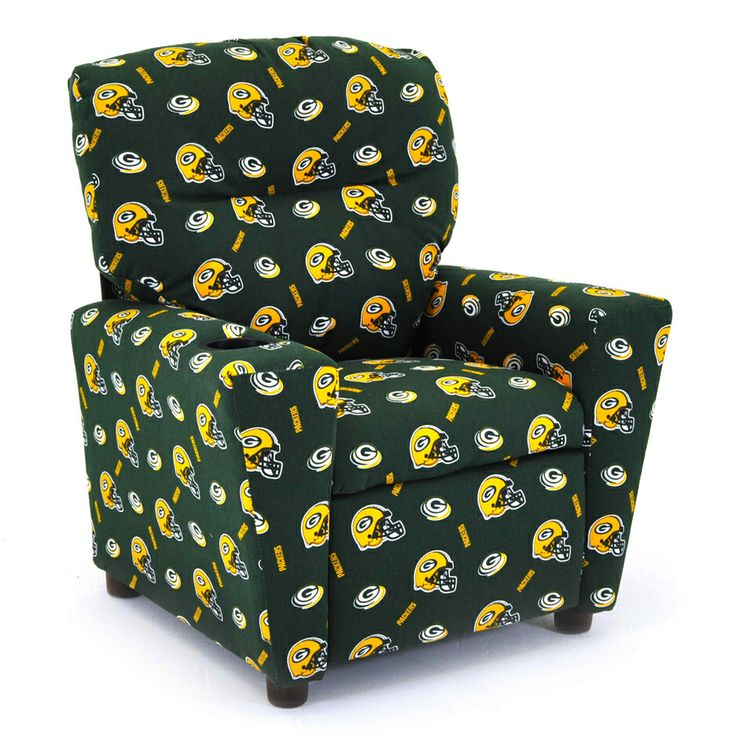 Green Bay Packers Kids Recliner With Cup Holder