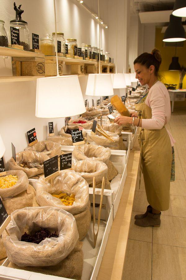 Pepita y Grano. Productos ecológicos a granel. Talleres saludables |  Santa en gracia, 77 <> Iglesia / Sainz de Baranda 45 <> Ibiza