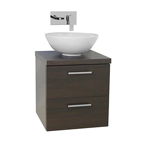 Iotti AN20 Aurora Small Vessel Sink Bathroom Vanity with