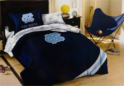 North Carolina Tar Heels Twin Comforter Set
