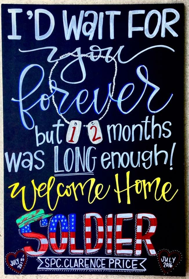 The 25 Best Welcome Home Signs For Military Ideas On Pinterest Military Homecoming Military