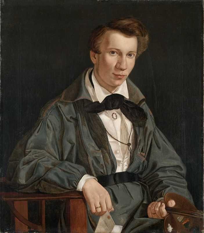 Adolph Tidemand - Portrett av Joachim Frich. 1830. jpg (703×800)