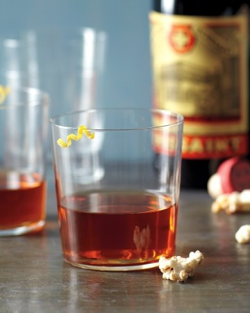 Sazerac - A New Orleans original, this drink is best when made with rye whiskey, but top-shelf bourbon works too.